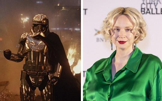 Gwendoline Christie v roli kapitána Phasmy ve Star Wars asi nikdo nečekal.