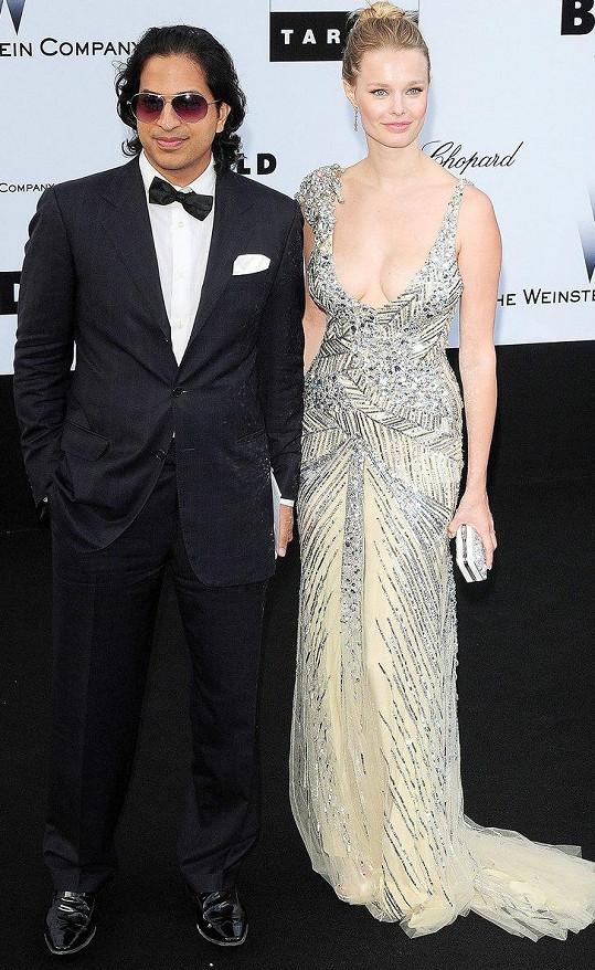 Helena Houdová s bývalým manželem Omarem v roce 2009