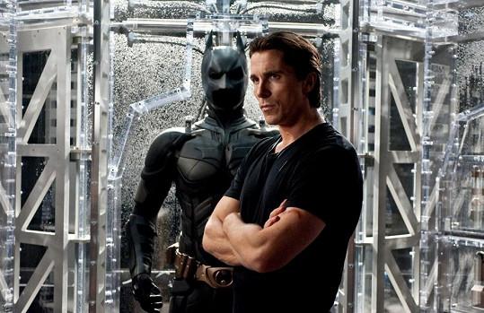 Pro roli Batmana byl jako stvořený.
