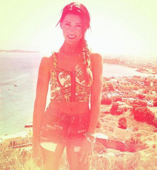 Tereza Kerndlová má ráda sluníčko.