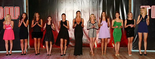 Závěrečné poděkování Dominiky a jejích modelek