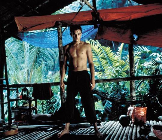 Leonardo DiCaprio ve filmu Pláž (2000)