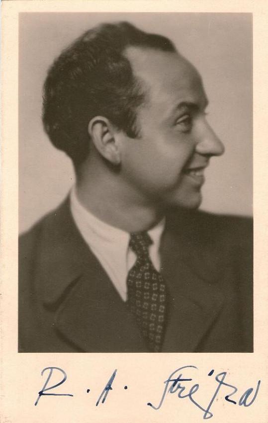 Filmová fotoska s autogramem oblíbeného herce