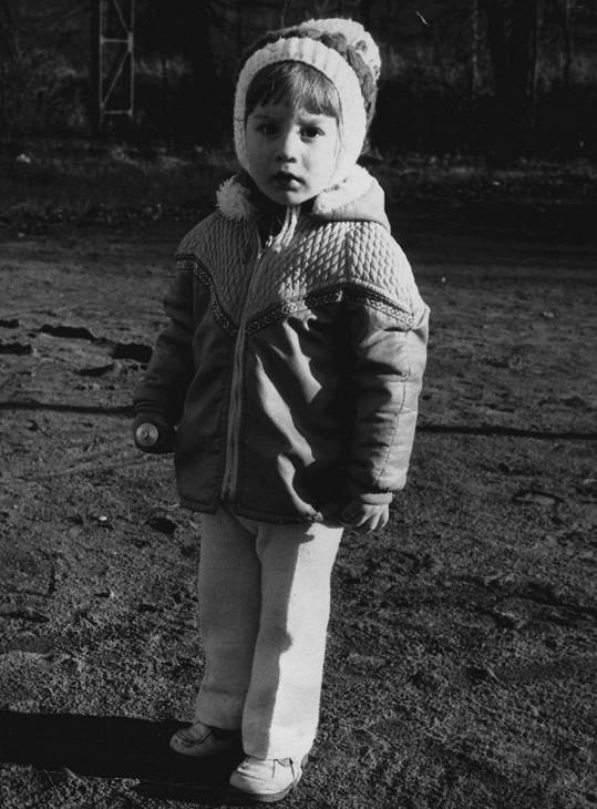 Tomáš byl jako malý chlapeček vážně sladký.