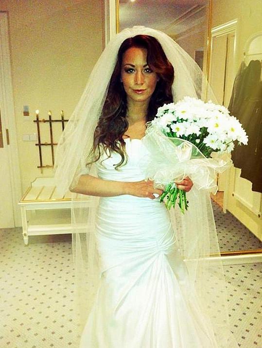 Foto ze svatby Agáty Hanychové.