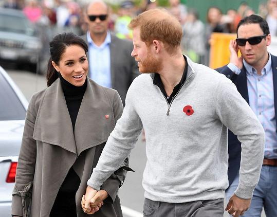 Harry a Meghan zavítali na Nový Zéland.