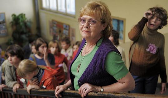 Jana Šulcová před pěti lety ve filmu Občanský průkaz