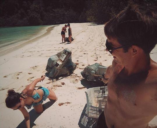 Veronika Arichteva se aktivně zapojila do projektu nového kamaráda, kterého potkala v Thajsku.