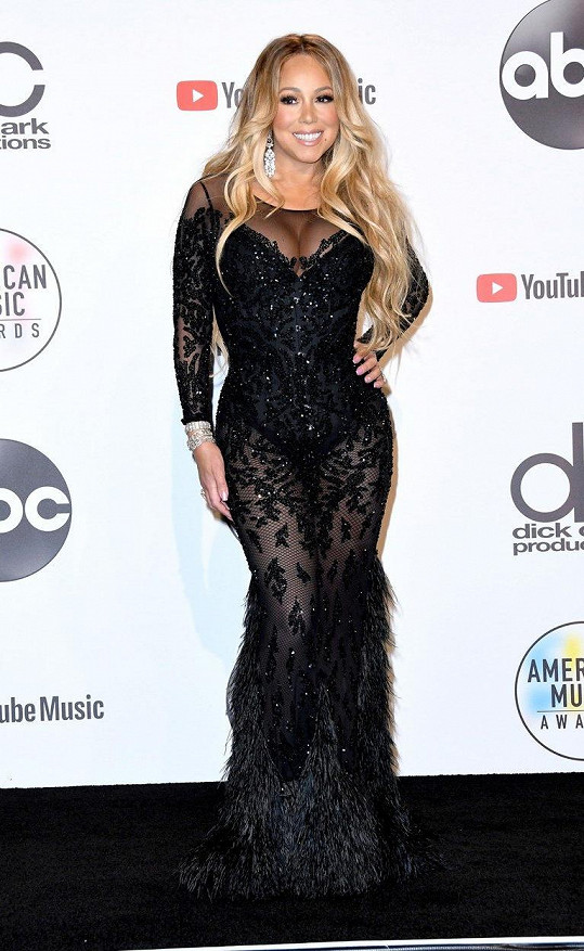 Mariah Carey na udílení American Music Awards