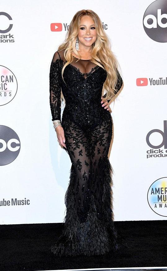 Mariah Carey na udílení American Music Awards