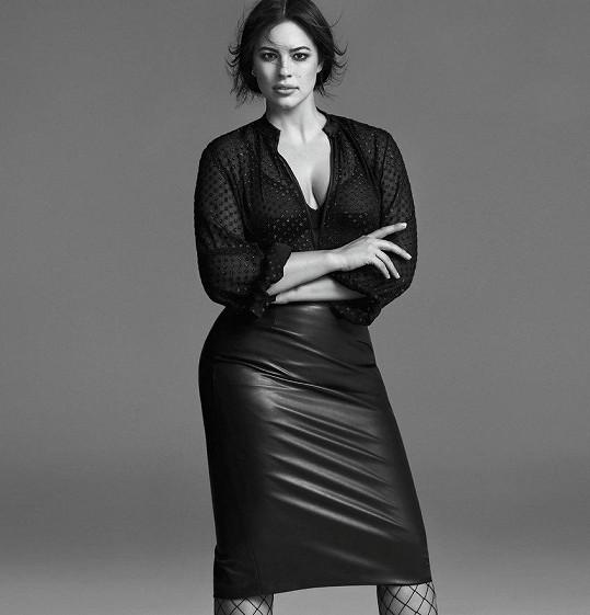 Její ženské tvary vyniknou v jakékoliv kampani.