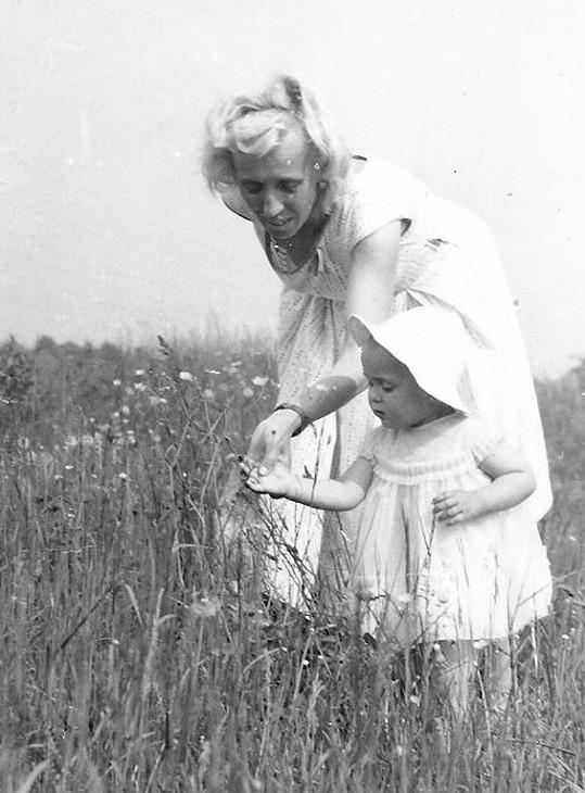 Heidi Janků jako holčička