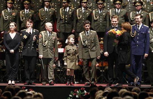 Divákům učarovala teprve šestiletá Valeria Lery Kurnuškina