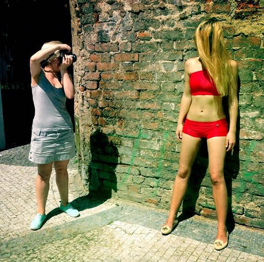 Fotilo se přímo v pražských ulicích.