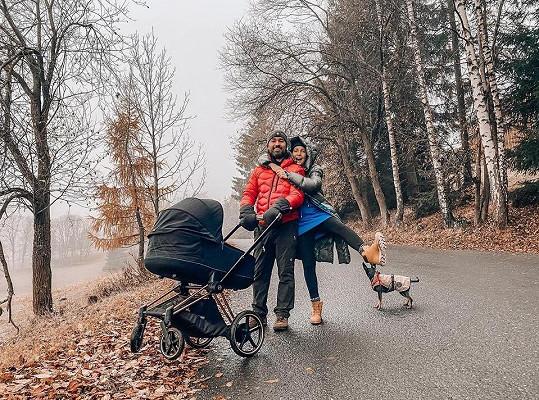 Na procházce s manželem