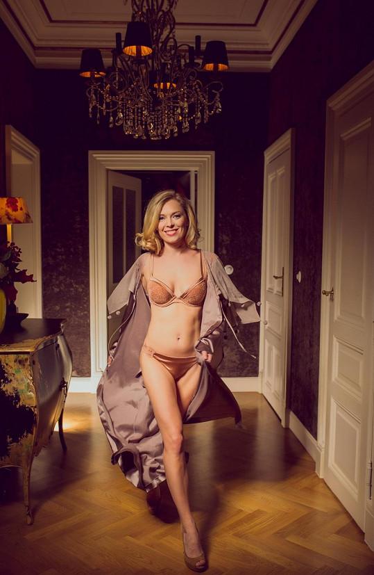 Martina by se uživila i jako modelka.