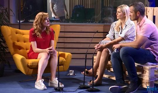 Sportovkyně se o své oblíbené činnosti rozpovídala v rozhovoru se Zorkou a Mírou Hejdovými.