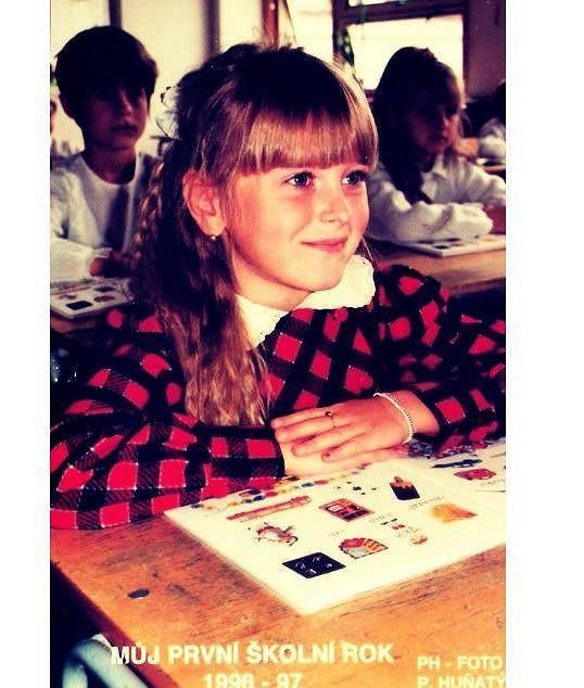 Moderátorka a její první školní dny