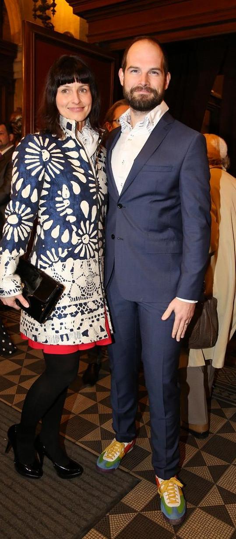 Jan Maxián s manželkou Lucií