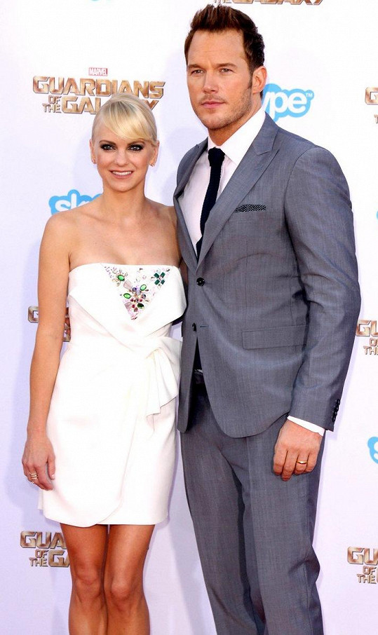 Chris Pratt a Anna Faris spolu byli deset let, z toho osm manželé.