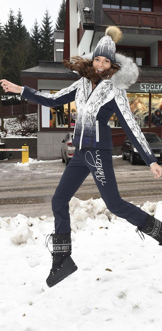 Nikol předváděla novou kolekci pro aktuální zimní sezónu.