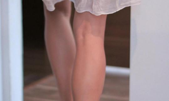 Původně měly být v klipu z Gábiny vidět jen nohy.