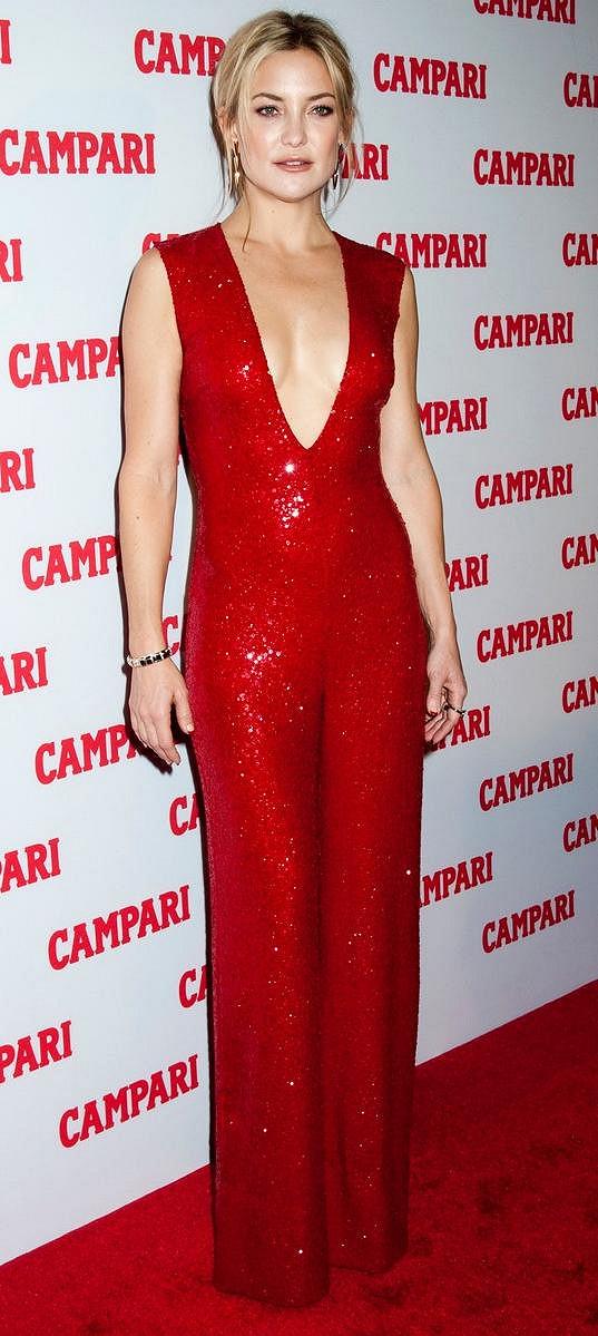 Kate Hudson na párty kalendáře, jehož se stala hlavní tváří.