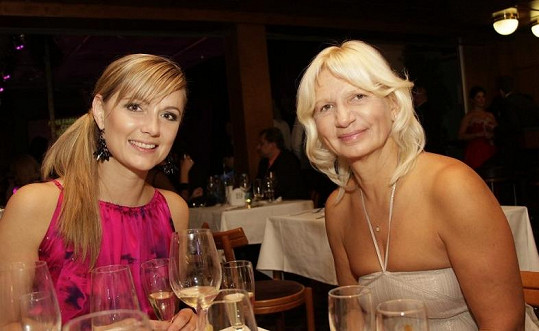 Pak si celý večer povídala s kolegyní z poroty MUDr. Ivanou Němečkovou.
