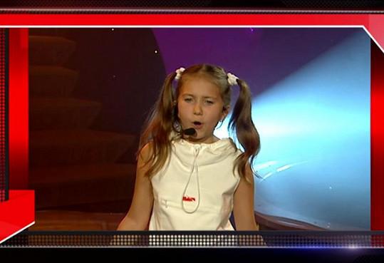V 11 letech zvítězila v Rozjezdech pro hvězdy.