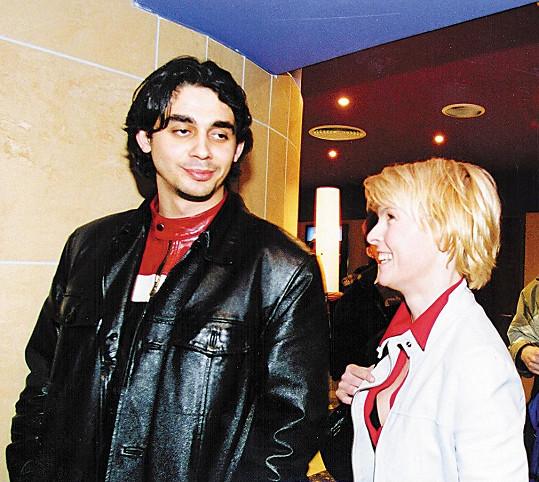 Karol Csino a Iveta Bartošová v roce 2002