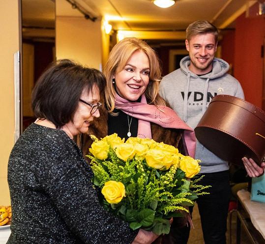 Zpěvačka také zavzpomínala na první setkání s Dagmar i Václavem Havlem.