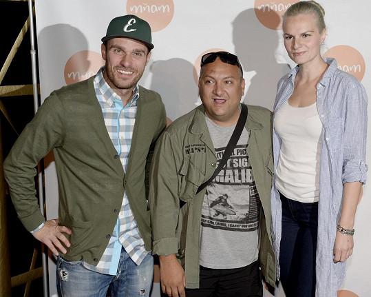 Vedle Ivy Pazderkové představil svůj nový pořad i Leoš Mareš.