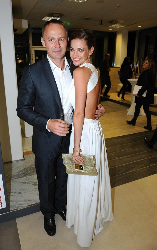 Andrea s manželem Danielem