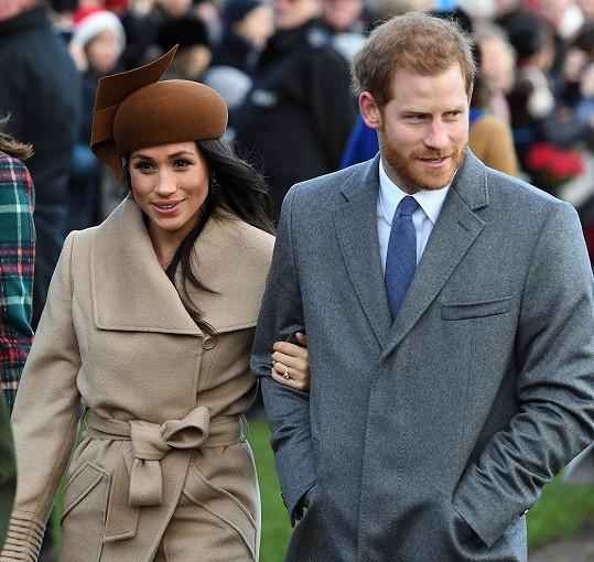 Harry a Meghan v květnu vstoupí do manželství.