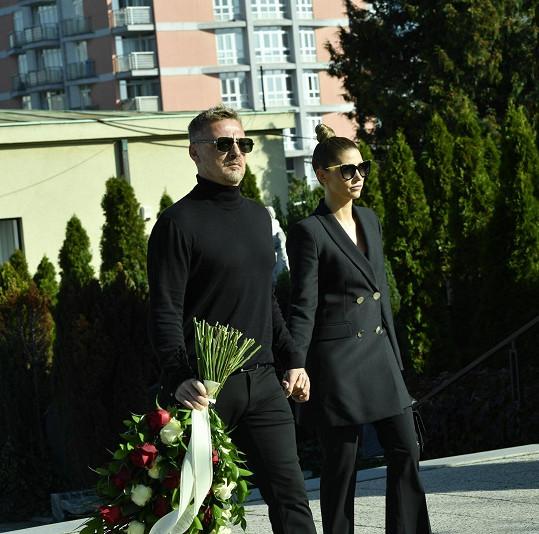 Tereza Kerndlová s manželem Reném