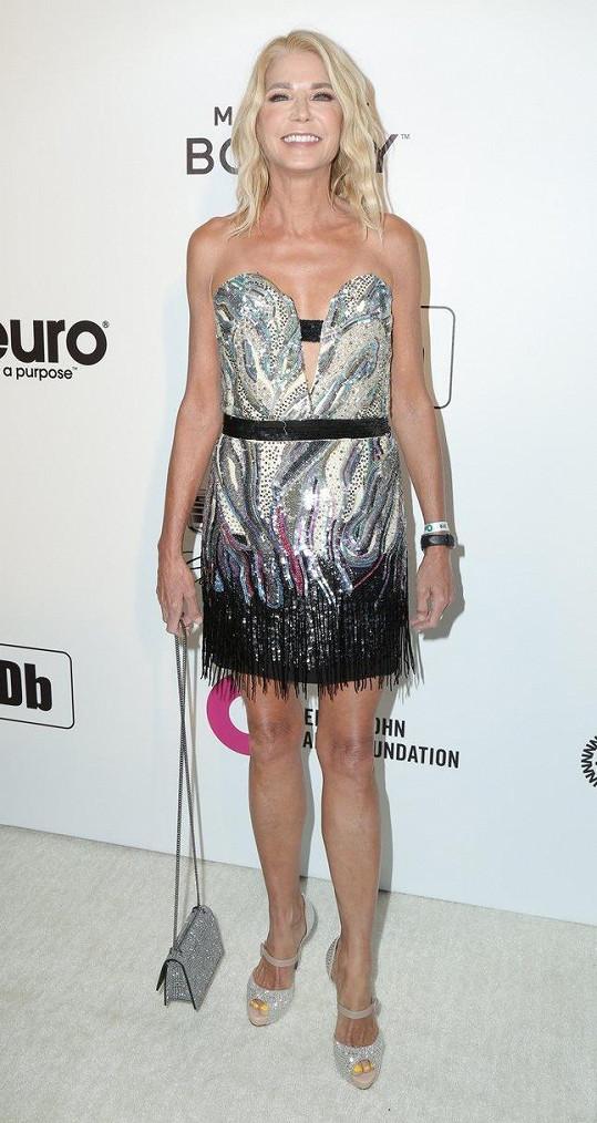 Candace Bushnell se obléká jako hlavní postavy v seriálu Sex ve městě.