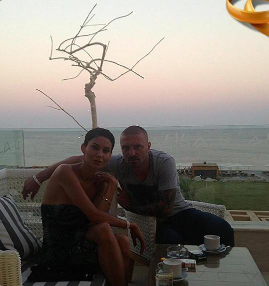 S partnerem Tomášem.