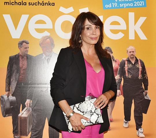 Tak já jsem spokojená, komentovala film po premiéře Boudová.