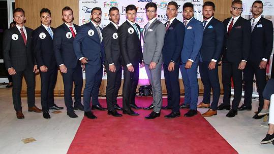 Finalisté Muže roku měli módní přehlídku.
