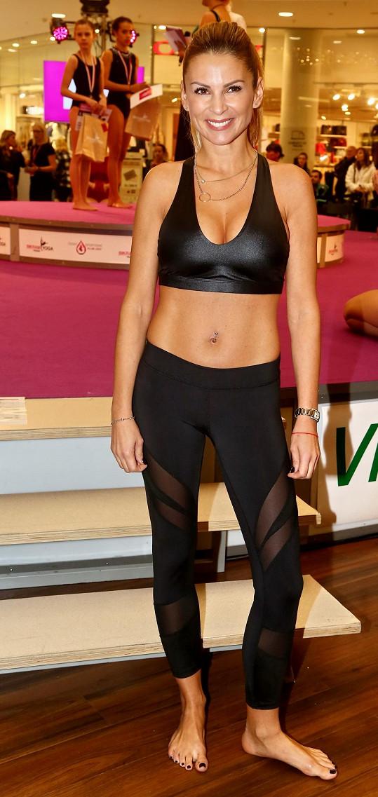 Tereza Vojtková se může pochlubit skvělou figurou.