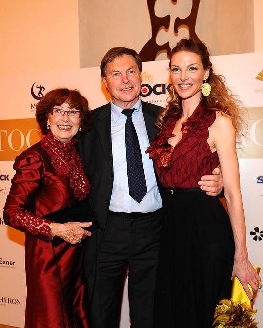 Pavlína Němcová s rodiči