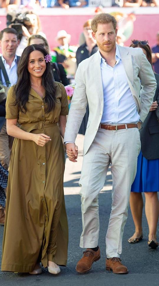 Meghan s manželem Harrym
