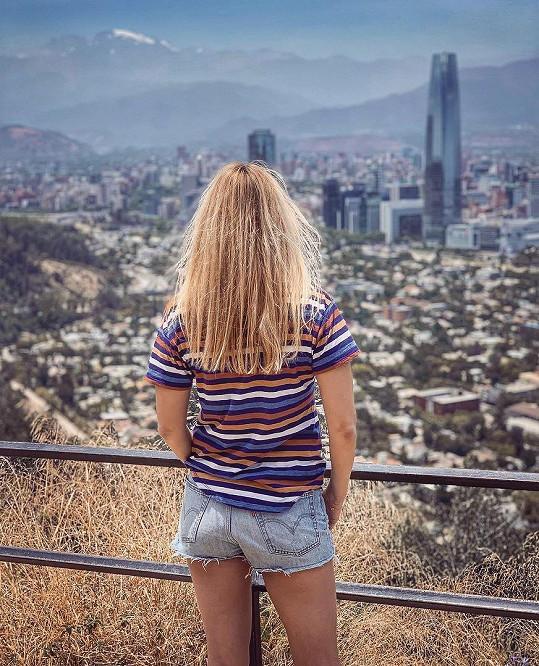Svou cestu po Chile zahájili v Santiagu.