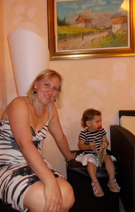 Markéta s dcerou Lindou.
