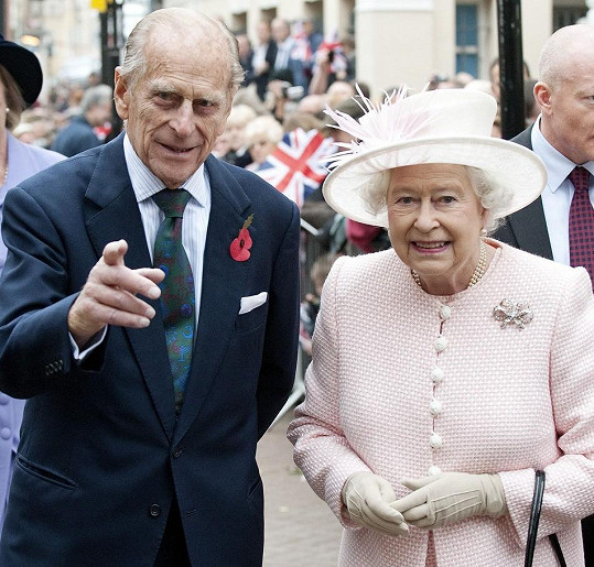 Byli svoji 73 let a vévoda byl královninou největší oporou.