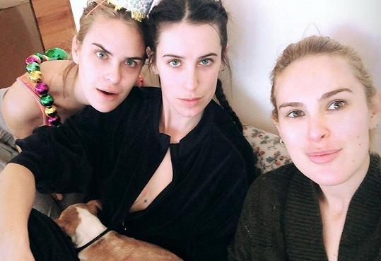 Rumer se sestrami Scout a Tallulah