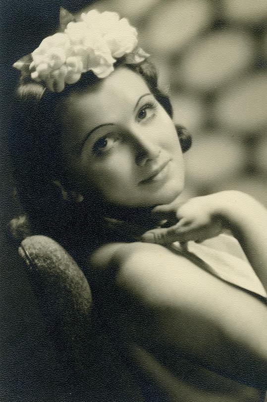 Marta Fričová byla mimořádně krásná a fotogenická.