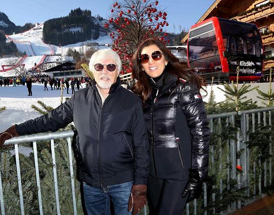 Bernie Ecclestone se s manželkou Fabianou Flosi konečně dočkal syna.