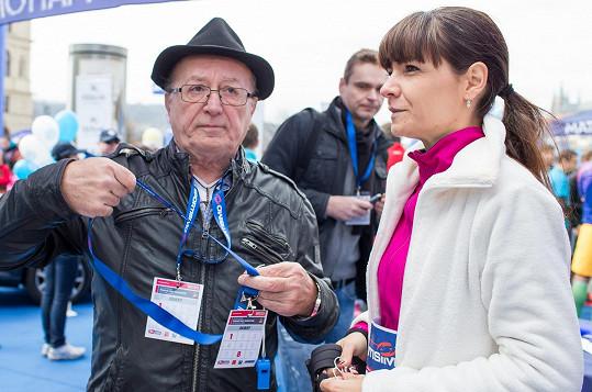 Petr Janda fandil své manželce.