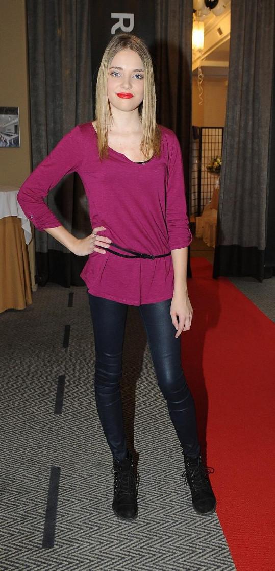 Kateřina Kozlová je vycházející hvězdou modelingu.